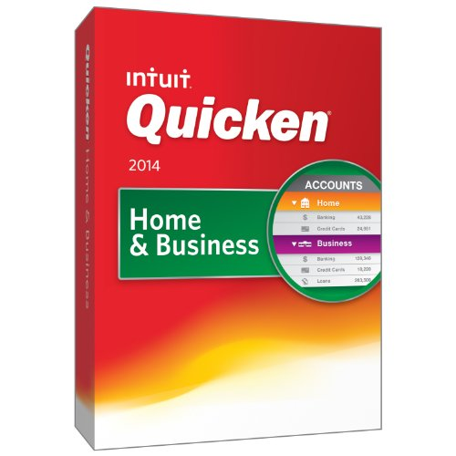Quicken Home and Business 2014