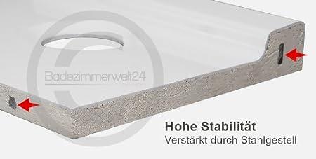 corrina duschwanne duschtasse superflach rechteck 80x120x5 5 cm. Black Bedroom Furniture Sets. Home Design Ideas