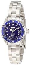Invicta Womens 9177 Pro Diver Collection Silver-Tone Watch