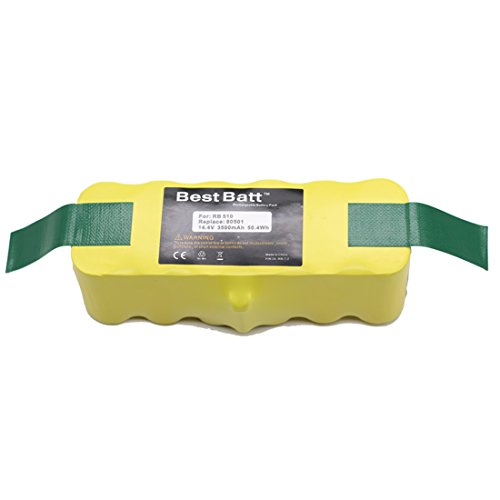 Best Deals! BestBatt 3500mAh Replacement Battery for iRobot Roomba 500, 600, 700, 800 Series Vacuum ...