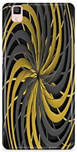 KSC Desginer Printed Hard Back Case Cover For Oppo R7s
