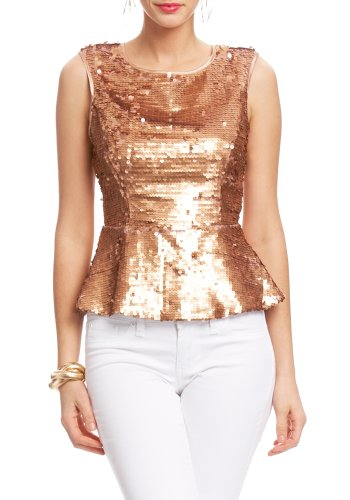 494fd87e12429 Sparkle into spring with our sleeveless peplum top featuring a sexy cut-out  zip back and oh yeah