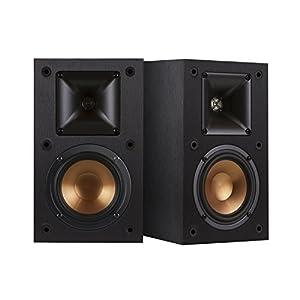 Klipsch R-14M - loudspeakers (Black, Floor, Tabletop/bookshelf, Universal, Wired, 64 - 24000 Hz, MDF)