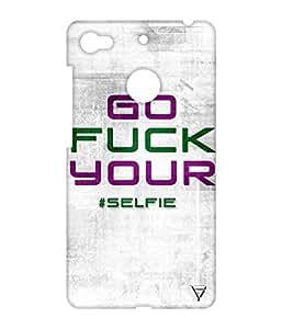 Vogueshell Selfie Printed Symmetry PRO Series Hard Back Case for LeEco Le 1s Eco