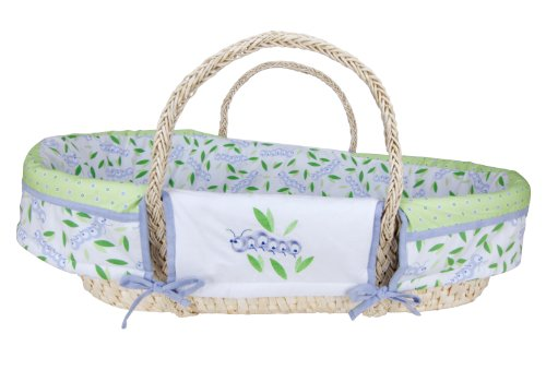 Trend Lab Moses Basket Set, Caterpillar