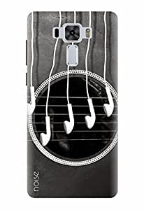 Noise Designer Printed Case / Cover for Asus ZenFone 3 Laser ZC551KL with 5.5 inch screen size / Music / Guitar Design