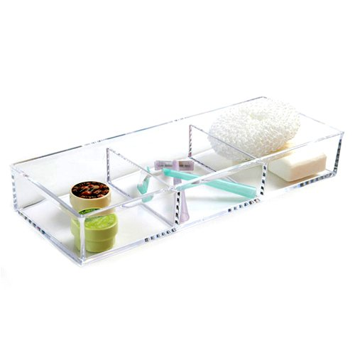 Accessory Box - 3 Compartment by Acrylic