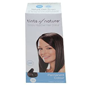Tints of Nature Organic 3N Natural Dark Brown Permanent Hair Colour 130ml