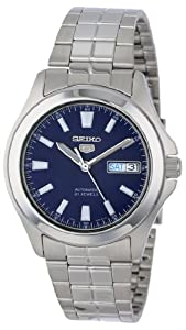 "Seiko Men's SNKL07 ""Seiko 5"" Stainless Steel Automatic Casual Watch"