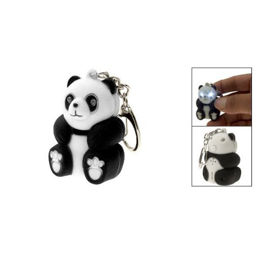 Panda-LED-Animal-Keychain-with-Sound-3x-Package-Includes-3-Pieces