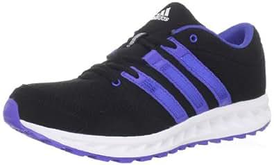 adidas Women's Falcon Elite 2 W Running Shoe,Black/Lab Blue/Running White,5 M US