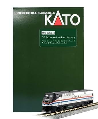 Kato USA Model Train Products P42 40th