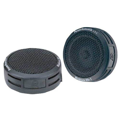 POWER ACOUSTIK NB-1 180-Watt 2-Way Mount Tweeters