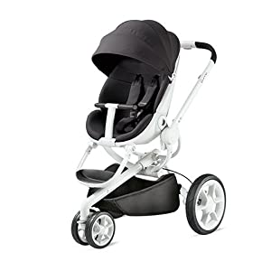 Stylish Pushchair, Unfolds Automatically At A Push Of A Button Quinny Moodd Blue Base from Quinny