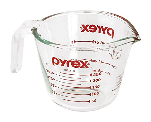 Pyrex Prepware 1-Cup Glass Measuring Cup (2 Cup Measuring Pyrex compare prices)