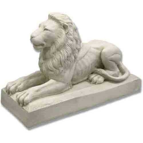XoticBrands OSF68750 Sentinel Lion 32 W Garden Animal Outdoor Statues