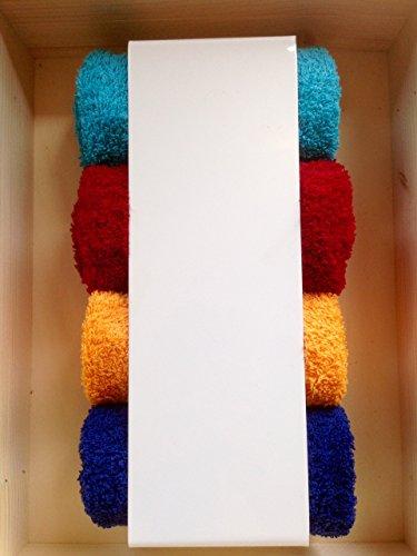 handtuchhalter wei g stehandt cher halter badezimmer wc regal modern schlicht ean. Black Bedroom Furniture Sets. Home Design Ideas