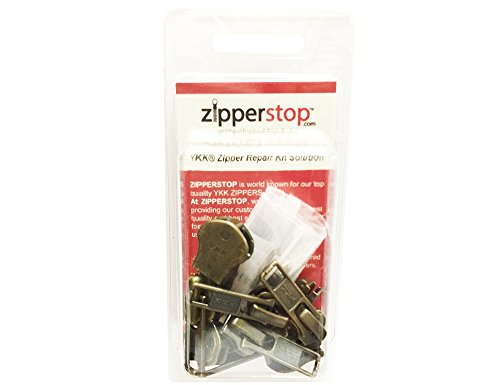 Lowest Price! ZipperStop Wholesale YKK® - Zipper Repair Kit Solution 8 sets of YKK® Auto Lock Slid...
