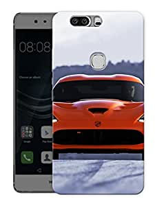 "Supercar Brand Love Printed Designer Mobile Back Cover For ""Huawei Honor V8"" (3D, Matte, Premium Quality Snap On Case)"