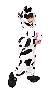 US TOP Kids Kigurumi Pajamas Children's Unisex Cosplay Costume Onesie