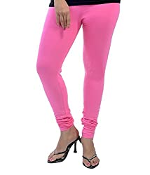 Hf Enterprise Women's Cotton Legging (S4_Pink_Free Size)