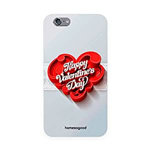 Valentine HomeSoGood Day Of Love Grey 3D Mobile Case For iPhone 6 (Back Cover)