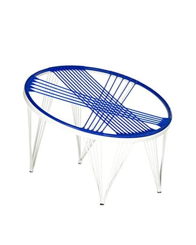 Safavieh Launchpad Chair, Blue/White
