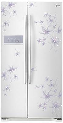 LG B207GPQV Side-by-side Refrigerator (581 Ltrs, Daffodil White)