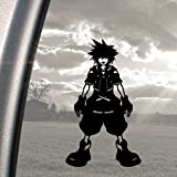 Kingdom Hearts Black Decal Sora PS2 Game Window Sticker