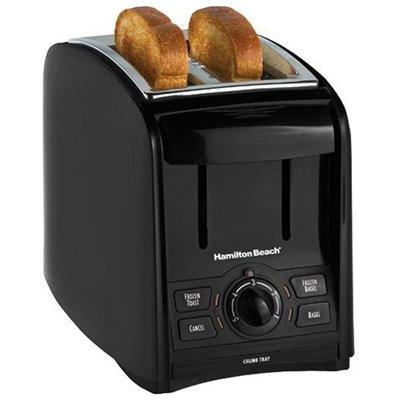Hamilton Beach Black 22121 SmartToast Two-Slice Toaster from Hamilton Beach