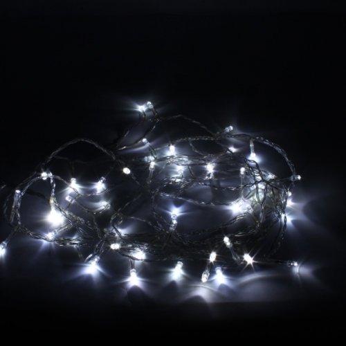 80 Led 8M Christmas Decorative Battery String Light White 13006389