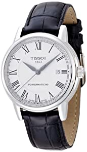 Tissot Men's T0854071601300 T Classic Carson Analog Display Swiss Automatic Black Watch