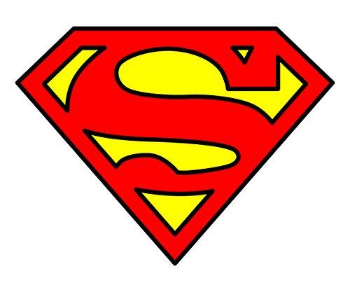 20 Water Slide Nail Decals Superman Symbol