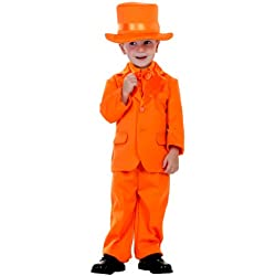Little Boys' Orange Tuxedo 2T