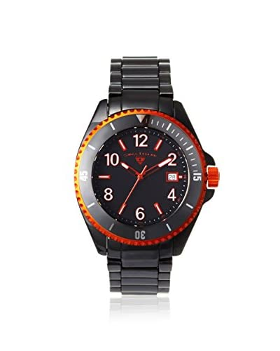 Swiss Legend Men's 11528-BKBOA Luminar Black/Orange Ceramic Watch