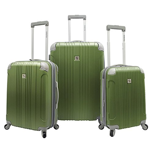 travelers-choice-beverly-hills-country-club-newport-3-piece-hardside-spinner-set-green