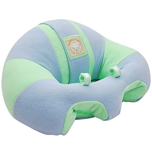 Hugaboo Infant Sitting Chair, Snuggle Buns/Blue/Green, 3-14 Months - 1