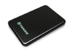 Transcend Information 128GB SuperSpeed 2.5-Inch USB 3.0 External Solid State Drive 260/225 MB/s TS128GESD200K