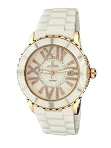 Le Chateau Women's 5870rse_wht Persida LC Ceramic Watch