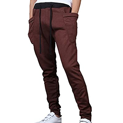Men's Slim Fit Casual Jogging Harem Pants