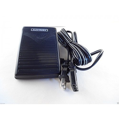 (Ship from USA) FOOT CONTROL PEDAL Singer 118,1007,1012,1105,1107,1116,1120,1130,1507,1525, 14T *PLKHG484UY5798 (Singer 2263 Foot Pedal compare prices)