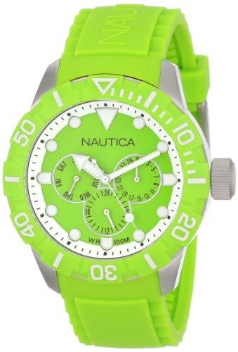 Nautica NSR 101 Multifunction Green Unisex watch #N13640G