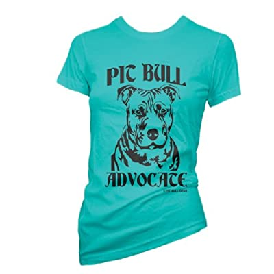 Pit Bull Advocate Women's Fitted Tee