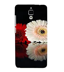 PrintVisa Flower Design 3D Hard Polycarbonate Designer Back Case Cover for Xiaomi Redmi Mi4