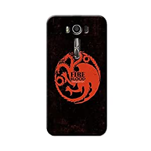 GAME OF THRONE-FIRE AND BLOOD BACK COVER FOR ASUS ZENFONE 2 LASER