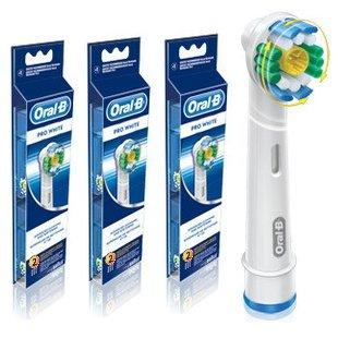 ブラウン オーラルB 電動歯ブラシ 替ブラシ ステイン 除去ブラシ 6本入り EB18ー6