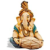 ArtzFolio A Statue Of Lord Ganesha - Medium Size 12.0 Inch X 18.0 Inch - UNFRAMED PREMIUM PAPER POSTER Wall Artwork...