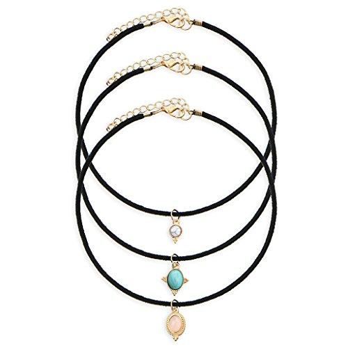 temple-and-priest-collier-pierres-turquoise-ras-du-cou-cuir-3pcs-bijoux-femme-formidable