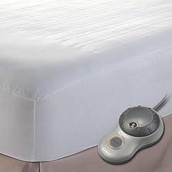 Sunbeam Heated Mattress Pad, Queen, MSU1GQS-N000-11A00