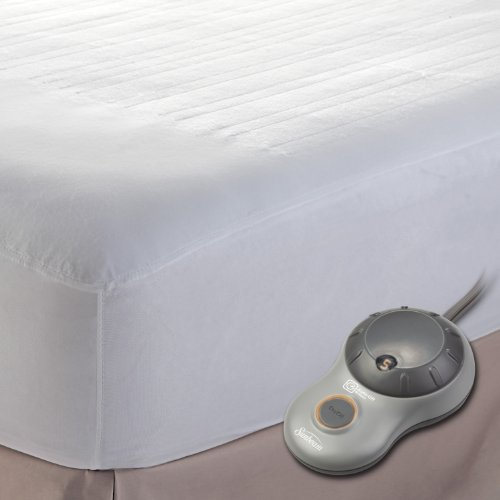 Discover Bargain Sunbeam Heated Mattress Pad, Queen, MSU1GQS-N000-11A00